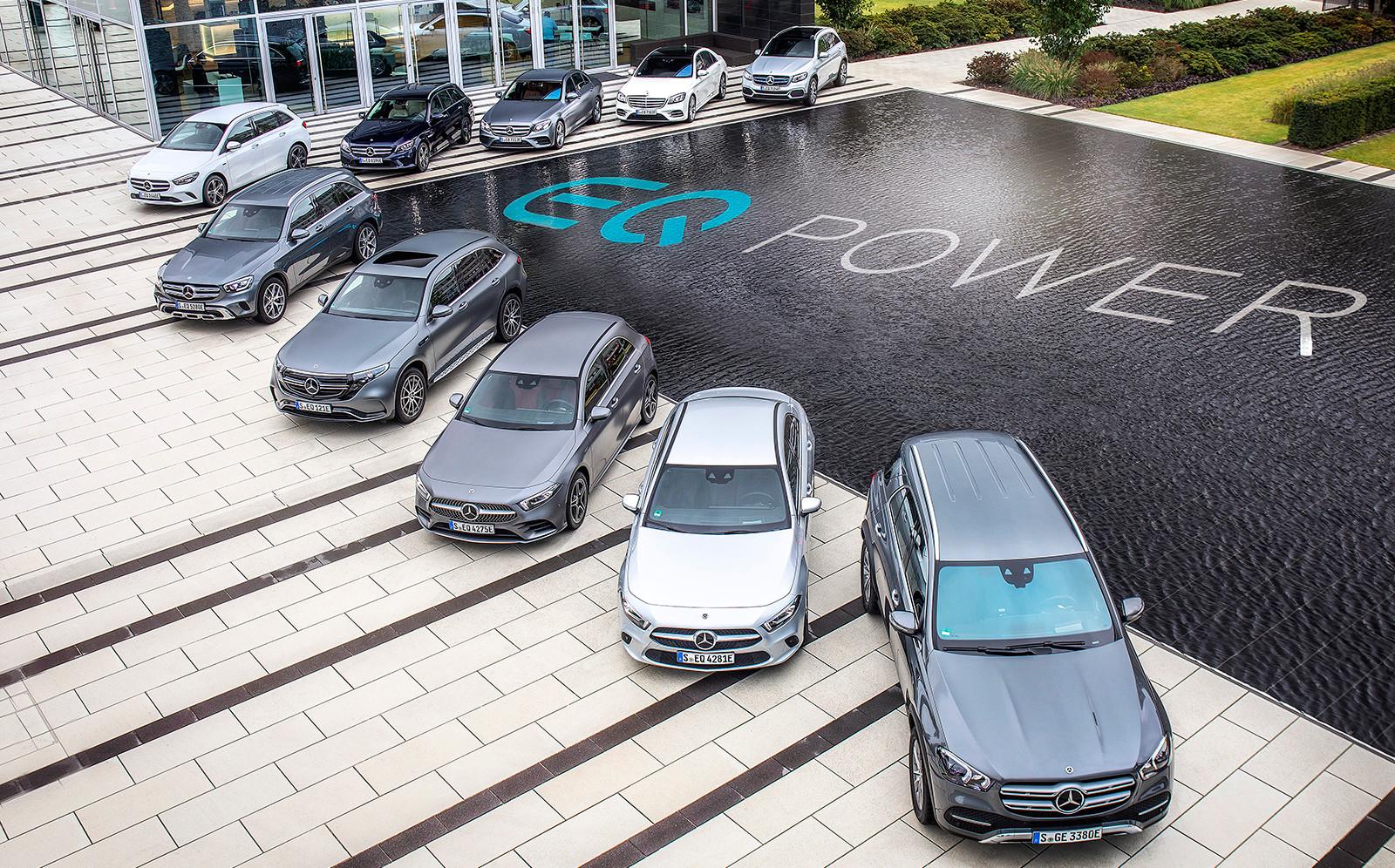 Foto de Los nuevos híbridos enchufables de Mercedes-Benz: Clase A, Clase B, GLC y GLE (10/29)