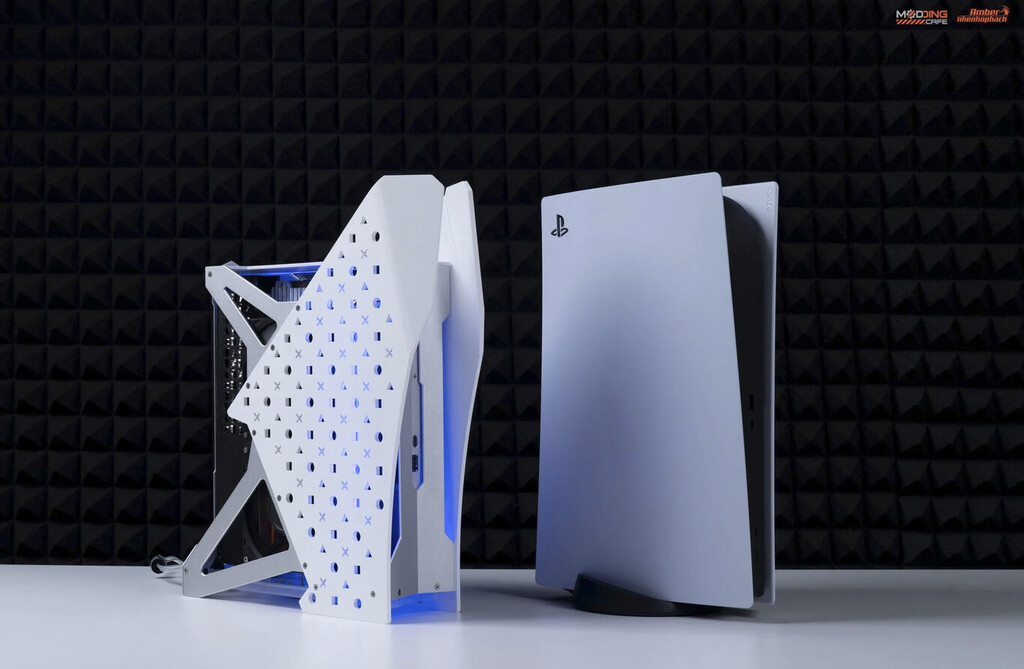 Una PS5 con refrigeración líquida no solo es posible, sino que es más compacta: así la han creado un grupo de expertos
