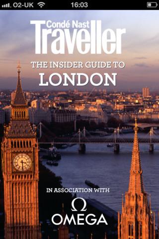 Aplicaciones viajeras para el iPhone: Guía de Londres de Condé Nast Traveller