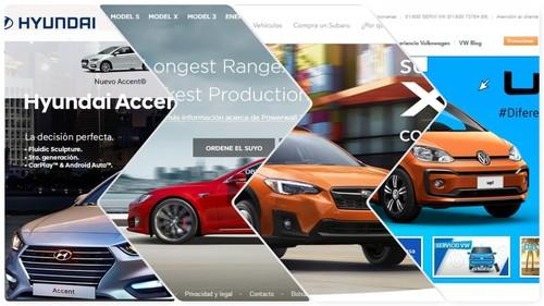 Sitios web de marcas de autos en México: ¿Cuáles son los mejores y los peores?