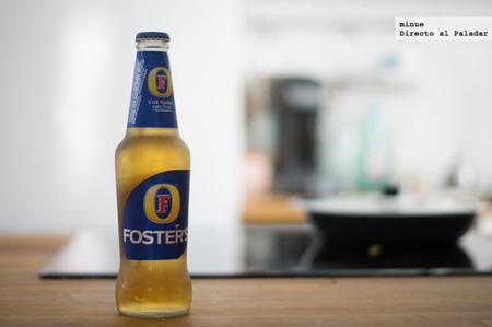 Foster's, el insípido ámbar australiano. Cata de cerveza