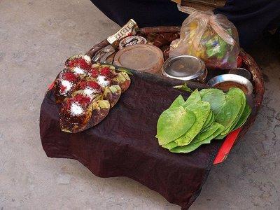Costumbres de Asia: masticando Paan
