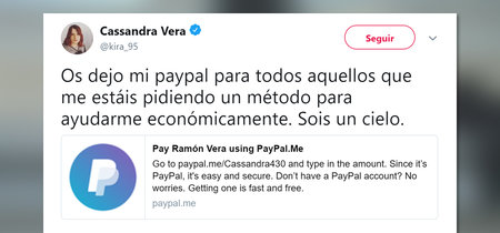 Cassandra Vera y las donaciones por su juicio: cuando das dinero a un imputado y es absuelto