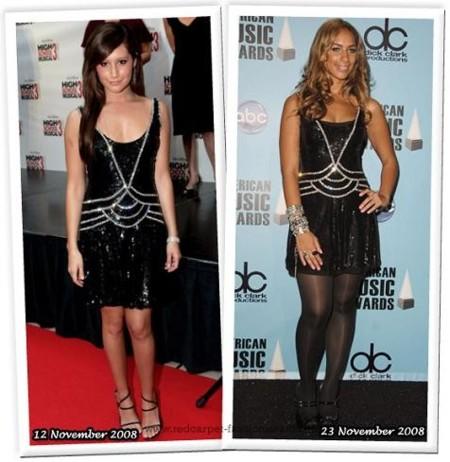 Ashley Tisdale y Leona Lewis ¿quién copia a quién?