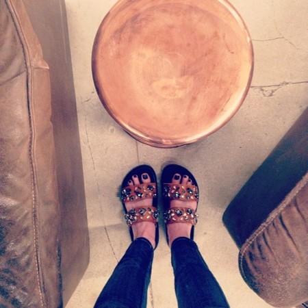 Zara y H&M apuestan por las sandalias joya