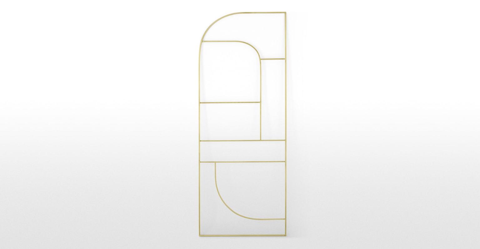 Vestar Toallero metálico de escalera Vestar, latón cepillado