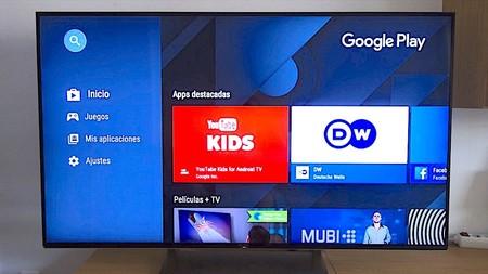 Google Play Música para Android TV recibe un lavado de cara: diseño más moderno y adiós al naranja