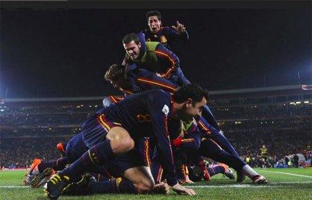 Un 88,1% de los españoles vieron la final del mundial