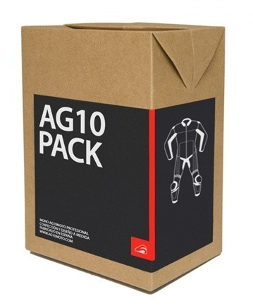 AG10Moto Pack, ¿y si me regalas un mono de cuero?