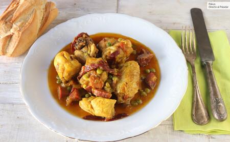 Pollo a la secretaria: receta del guiso típico de Jaén que surgió al olvidar un ingrediente