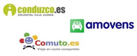 """Conduzco.es y otras plataformas de coche compartido """"ride sharing"""" en España"""