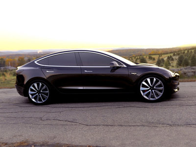 El Tesla Model 3 de dos motores se parecerá más al Model S con su suspensión de aire inteligente