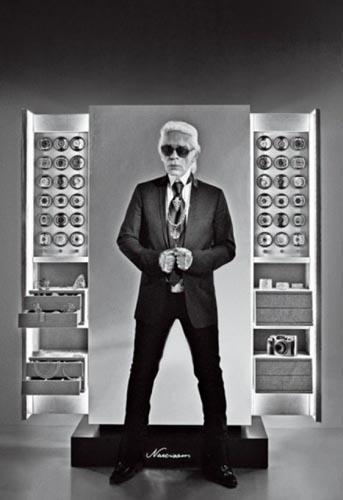 La caja fuerte Dottling diseñada por Karl Lagerfeld