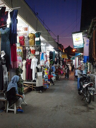 """Bazares del mundo: """"Noches árabes"""" en Surabaya, Indonesia"""