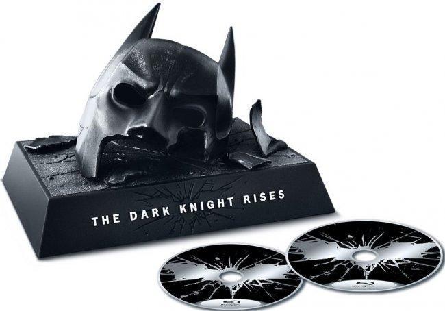 Imagen de la edición limitada en blu-ray de 'El Caballero Oscuro: La Leyenda Renace'