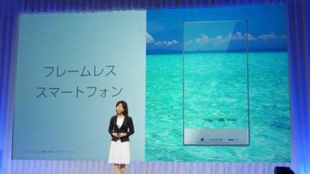 Sharp Aquos Crystal, dos smartphones con marcos de pantalla ínfimos