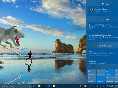 La última beta de Windows 10 incluye muchas novedades, y mucho Fluent Design