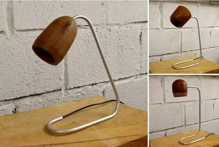 Brz wood design l mparas hechas en el bierzo con madera for Cosas con madera reciclada