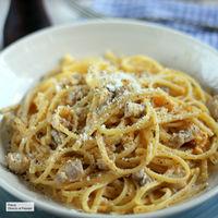 Cómo hacer espaguetis a la carbonara mejor que en ningún restaurante
