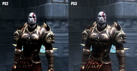God of War Collection comparativa