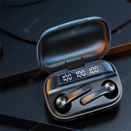 Audífonos inalámbricos Lenovo QT81 de oferta en México