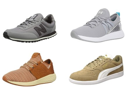 5 chollos por menos de 29 euros en tallas sueltas de zapatillas New Balance, Under Armour y Puma en Amazon