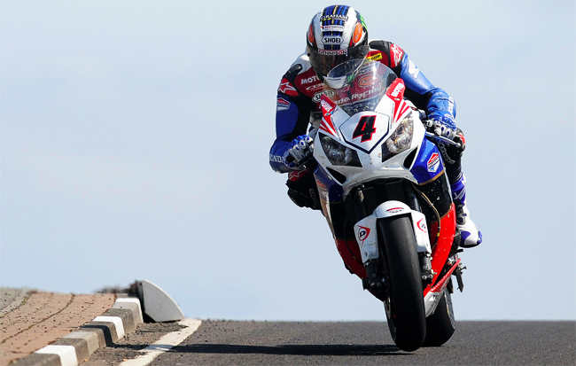 John McGuinness North West 200 SBK