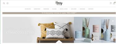 Kenay home la tienda española de decoración más nórdica vende sus productos en Amazon