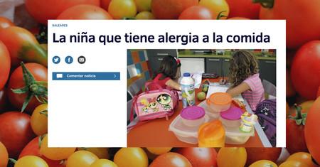 """Mentiras, medias verdades e incógnitas de la historia sobre """"la niña que tiene alergia a la comida"""""""