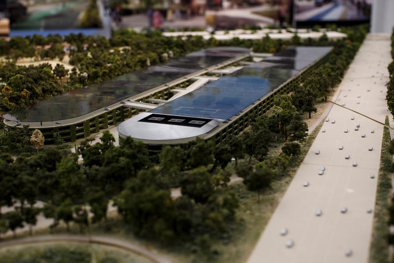 Foto de Maqueta del Campus 2 de Apple (14/22)