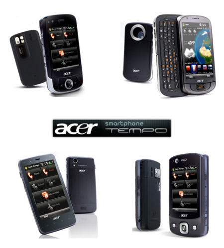 Acer SmartPhone Tempo: M900, F900, X960 y DX900