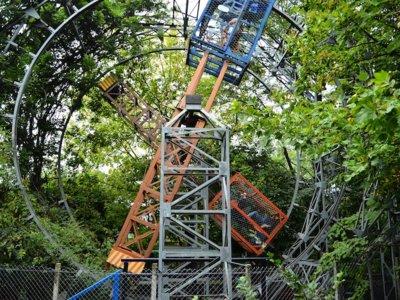 La historia del hombre que pasó 40 años construyendo un gigantesco parque de atracciones