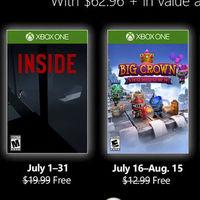 Inside y Castlevania protagonizan los juegos de Games with Gold de julio
