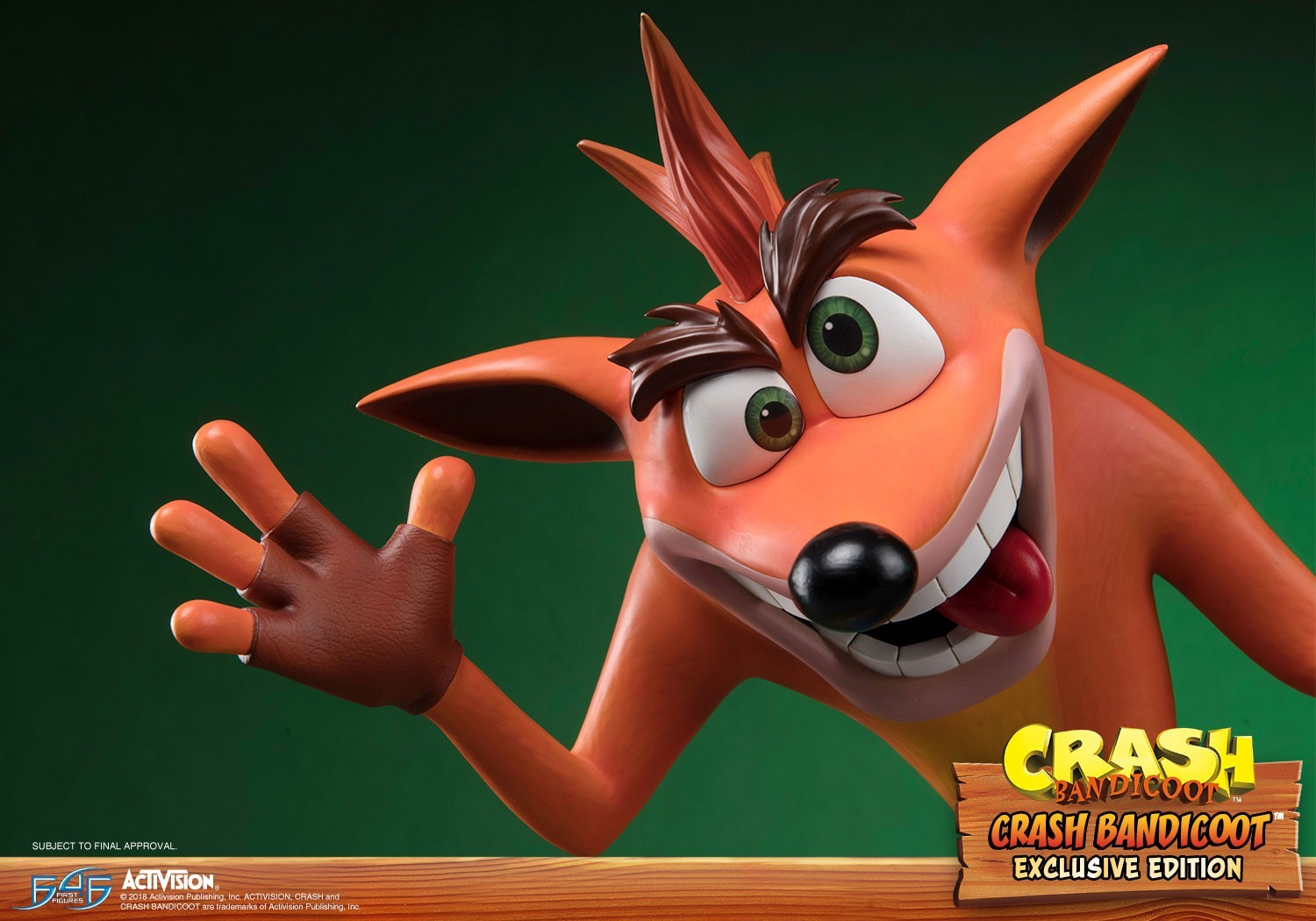Foto de Crash Bandicoot de Resina (1/18)