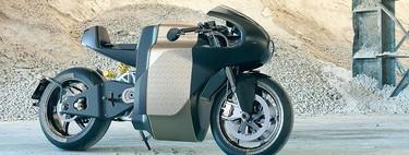 Esta preciosidad es la Saroléa MANX7: Una moto eléctrica de 163 CV sólo para sibaritas