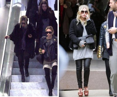 Foto de Mary Kate y Ashley Olsen en la Semana de la Moda de Paris (1/5)