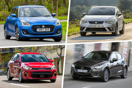 Mazda2 Vs Swift Vs Ibiza Vs Rio 4
