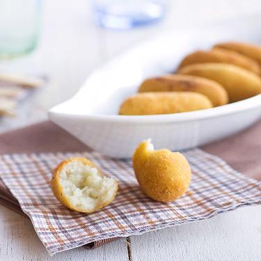 Croquetas de queso variado, la receta ideal para los amantes del queso