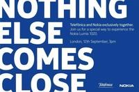 Nokia y Telefónica anuncian evento con novedades sobre el Lumia 1020