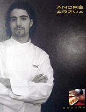 André Arzúa nos presenta Cociña, su primer libro de recetas