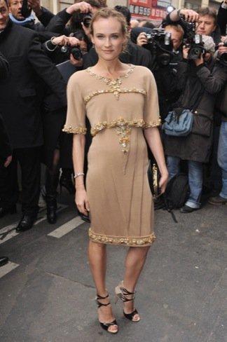 Diane Kruger Chanel Alta Costura Primavera-Verano 2011