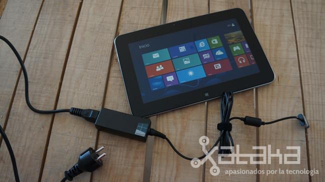 Dell XPS 10 análisis en Xataka cargador