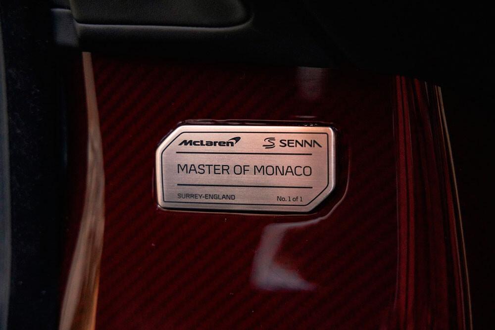 Foto de El McLaren Senna XP Master of Monaco de Post Malone, a la venta (10/14)