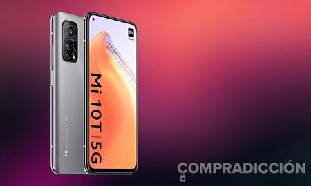 Hazte con un smartphone 5G como el Xiaomi Mi 10T con descuento directo en MediaMarkt. Ahora lo tienes por 349 euros