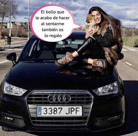 Violeta Mangriñán sortea su propio cochazo en Instagram y desata la locura entre sus seguidores