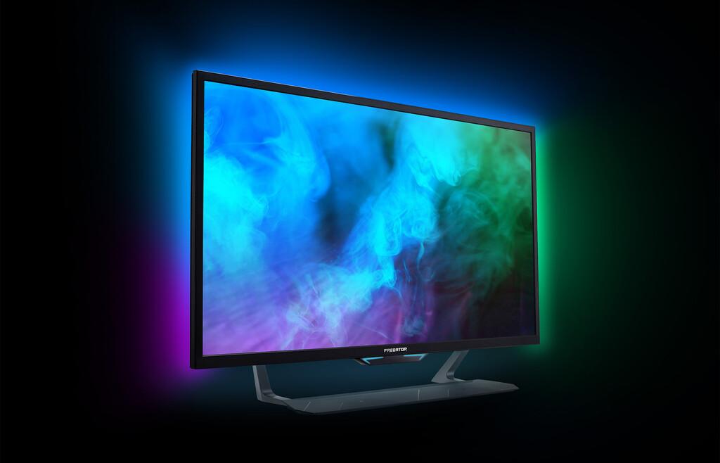 Los nuevos monitores para 'gaming' de la familia Predator de Acer prometen, y mucho: llegan con HDMI 2.1, hasta 42,5