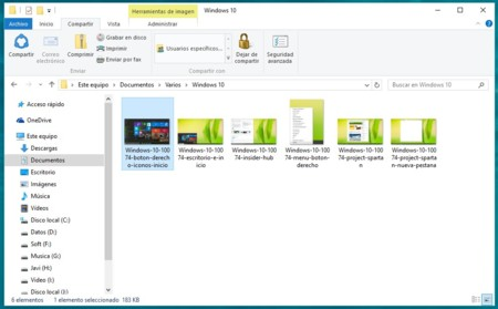 Windows 10 Compartir Archivos