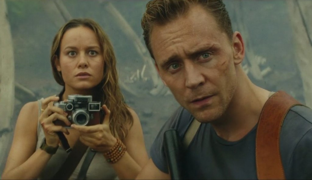 Brie Larson y Tom Hiddleston
