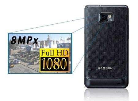 Samsung Galaxy S II, vídeos e imágenes tomadas con su cámara
