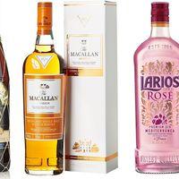 Tres ofertas en bebidas de alta graduacion: Macallan, Brugal y Larios a mejor precio hasta medianoche en Amazon